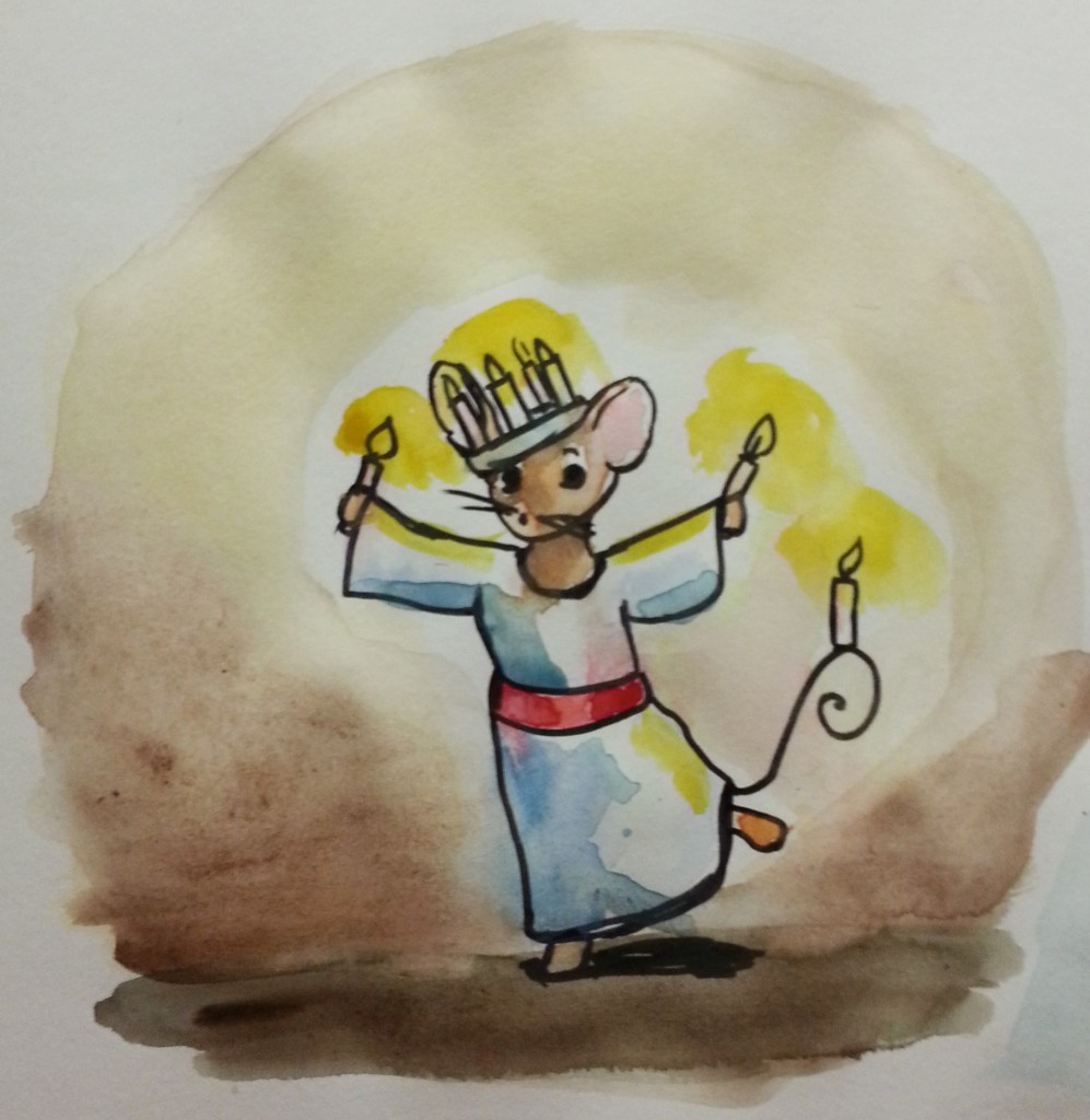 Saint Lucy Mouse