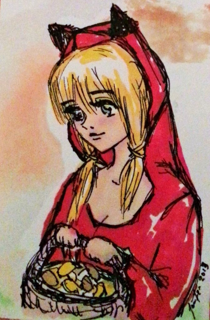 Red Riding Hood by Jennloop