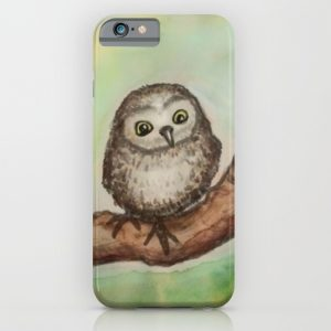 Owl Phone Case by Jennloop