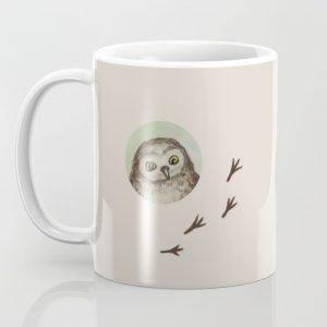 Owl Mug by Jennloop