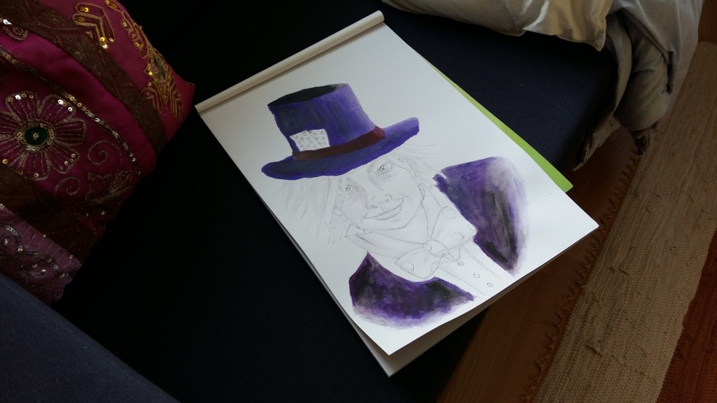 Mad Hatter in Progress