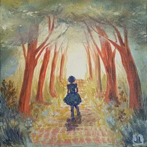 Painting by Jennloop